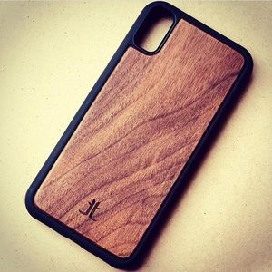 Wooden phone case for iPhone X